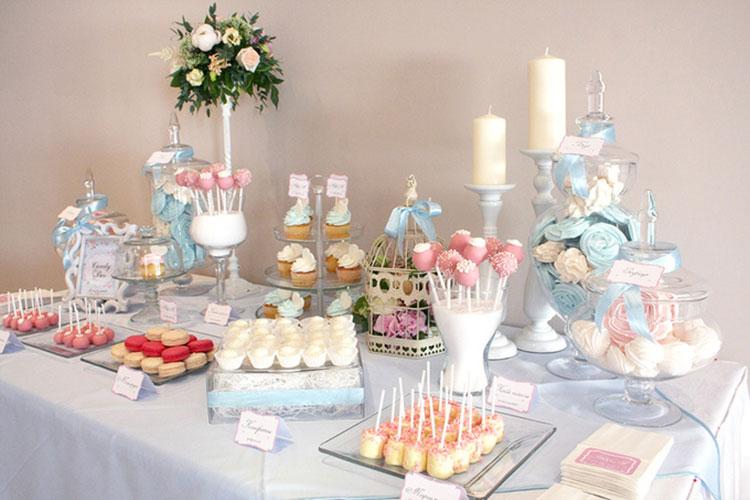 Candy bar (кэнди бар) на свадьбу: фото и примеры оформления кэнди бара
